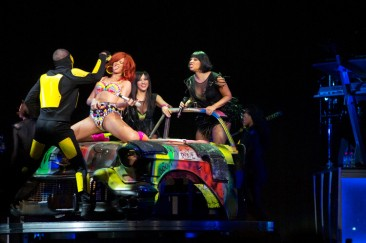 "Rihanna and her ""Loud Tour"" at the Wells Fargo Center, Philadelphia, PA"