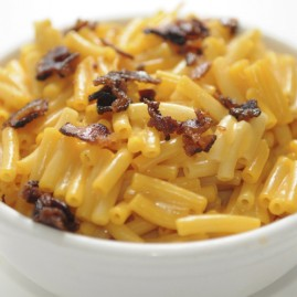 Kraft Macaroni and Cheese with bacon