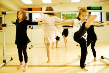 Ballet and dance classes at The Creative Living Room, Swarthmore, PA.