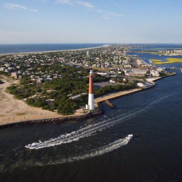 Aerial Long Beach Island