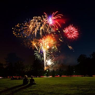 Swarthmore College Fireworks